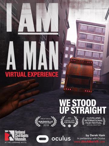 I am a man event poster image