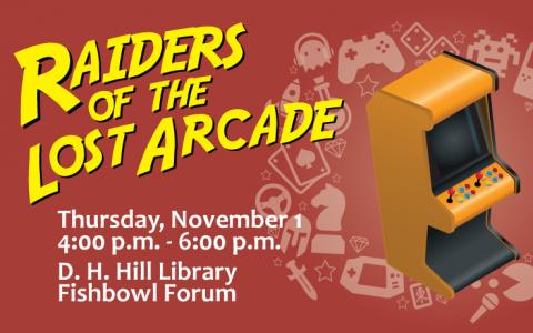 Raiders of the Lost Arcade