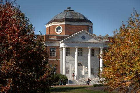 Exterior Photo of the Harrye B. Lyons Design Library  building