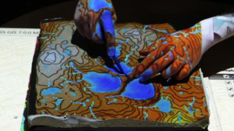 Students and researchers can utilize tangible landscape.