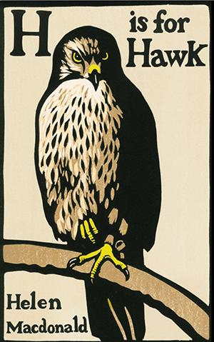 "Book cover for 'H is for Hawk"" by Helen Macdonald"