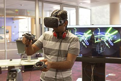 Virtual reality image.