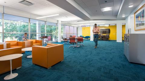 The new Faculty Research Commons at D. H. Hill