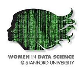 Logo of Women in Data Science Panel Discussion