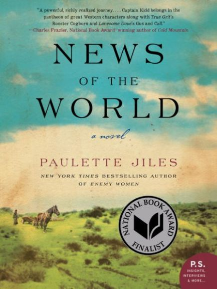 """News of the World"" book cover."