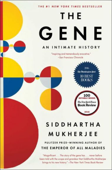 The Gene: An Intimate History book cover.