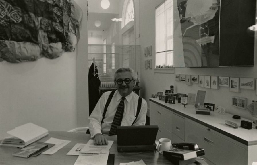 Marvin Malecha, Design School Dean, 1994 December 1