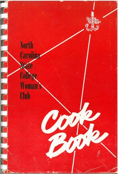 Foods that Rate at N. C. State, Woman's Club cookbook of 1954.