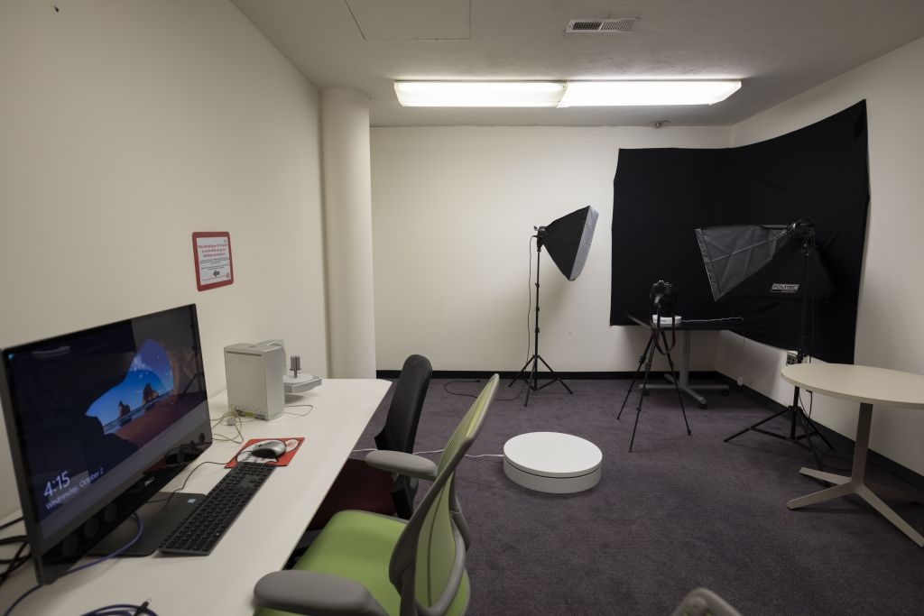 Hill Junior 3 D Scanning Studio