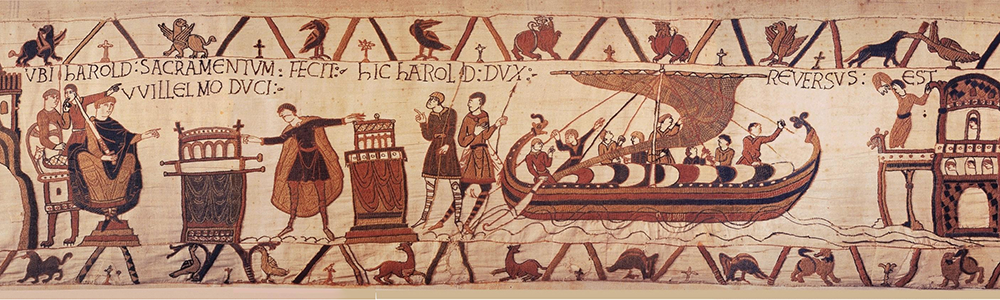 Image of Bayeux Tapestry