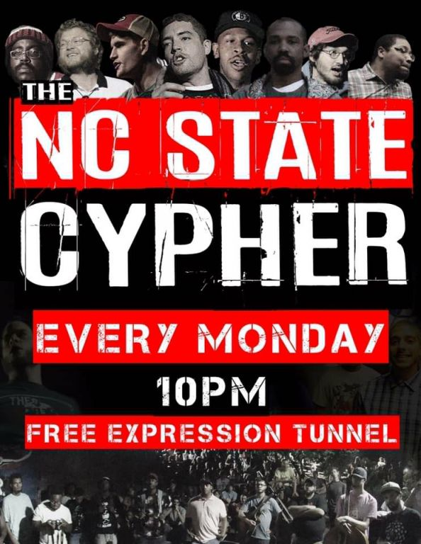 Poster of The NC State Cypher.