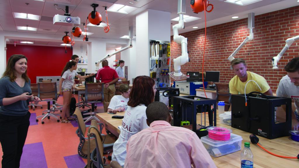 d  h  hill makerspace