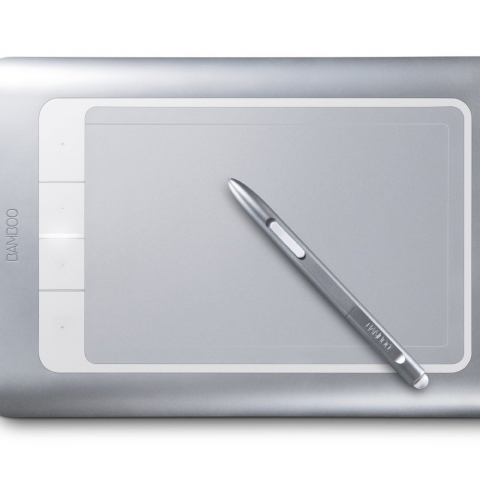 drawing tablet and stylus