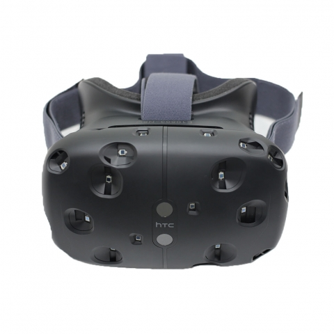 Vive headset front view.