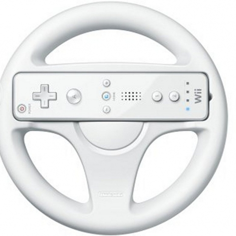 Wii-mote Wheel Attachment