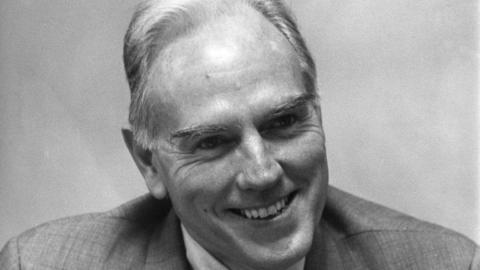 Chancellor John T. Caldwell, circa 1970