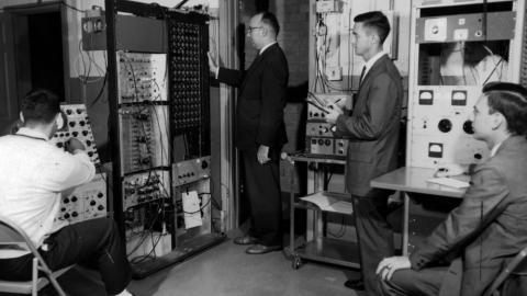 Neutron Activation Analysis Laboratory, Dept. of Physics, 1960s