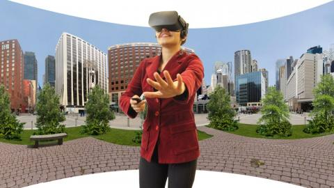 "Immersive Virtual Environments are ""the next best thing to being there"""