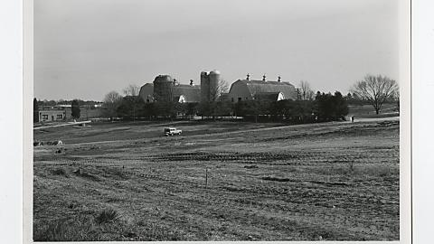 Veterinary Medicine campus site, circa 1977