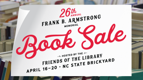 Frank B. Armstrong 26th annual Book Sale image