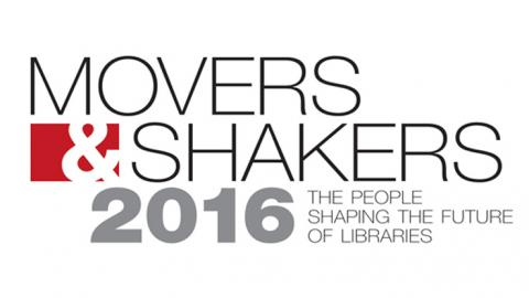 "Evans Groth is NCSU Libraries' ninth ""Mover & Shaker"" in eleven years."