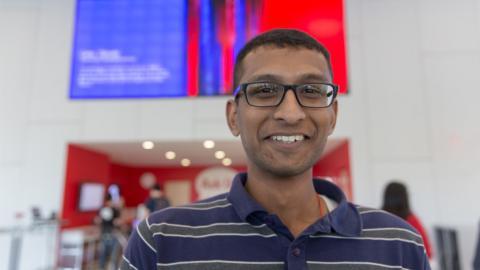 2016 Grand prize winner Santhosh Radhakrishnan