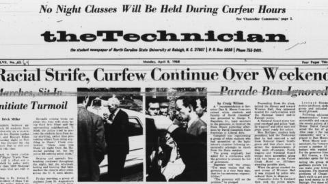 Technician [Vol. 48 No. 64], April 8, 1968