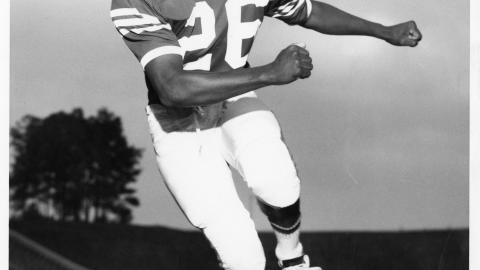 Marcus Martin became NC State's first African American football player in 1967.