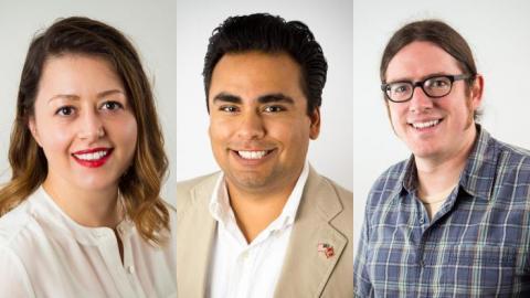 Lauren Di Monte, Jesse Lopez, Adam Rogers