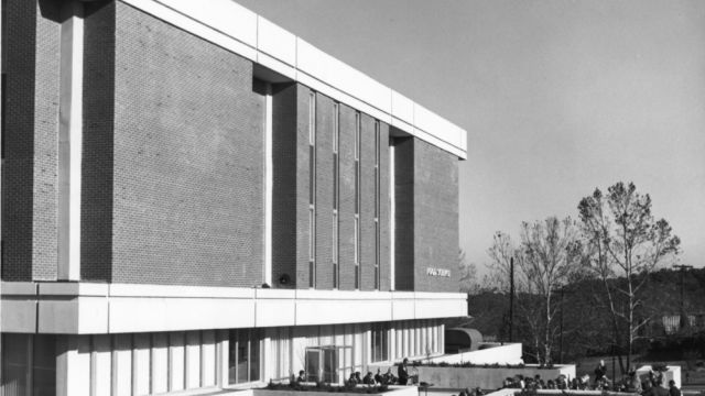 NC State's Schaub Hall was dedicated on 26 Nov. 1968 as the Food Science Building.