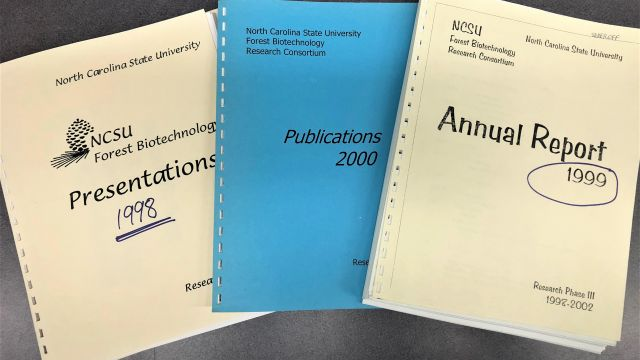 Forest Biotechnology Group Materials, 1998-2000