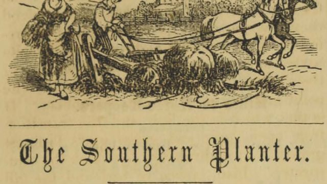 From the Southern Planter, June 1859, page 369