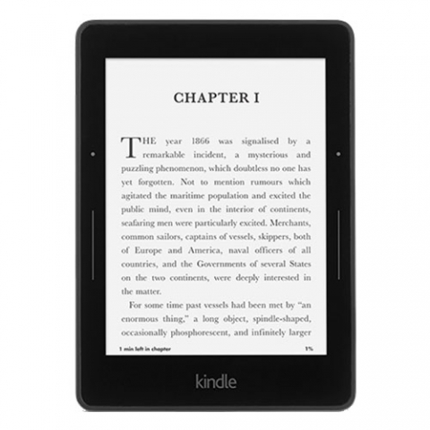 Kindle reader.