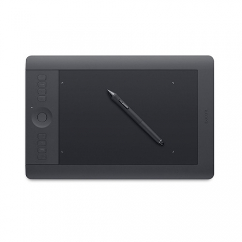 Wacom drawing tablet with stylus