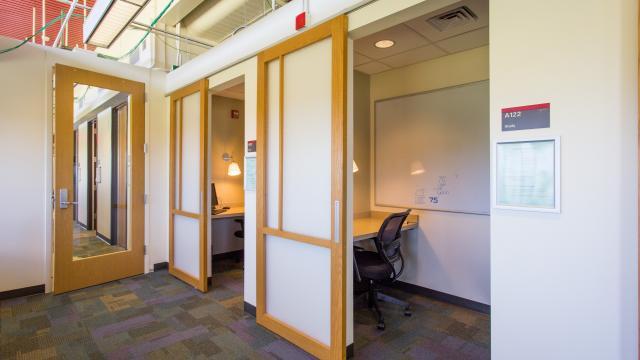 Individual Quiet Study Rooms