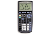 Picture of a TI 83+ graphing calculator