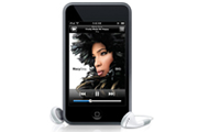 Picture of an Apple iPod touch