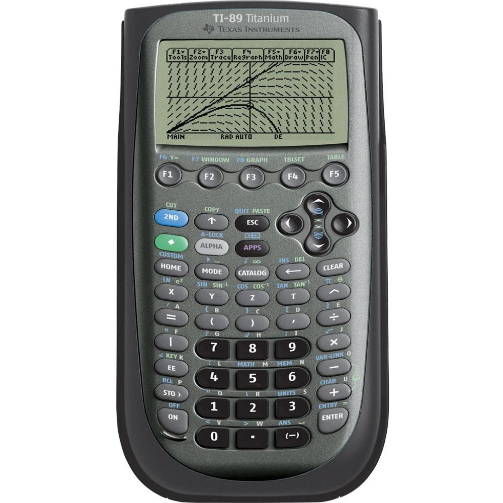 TI-89 titanium calculator image