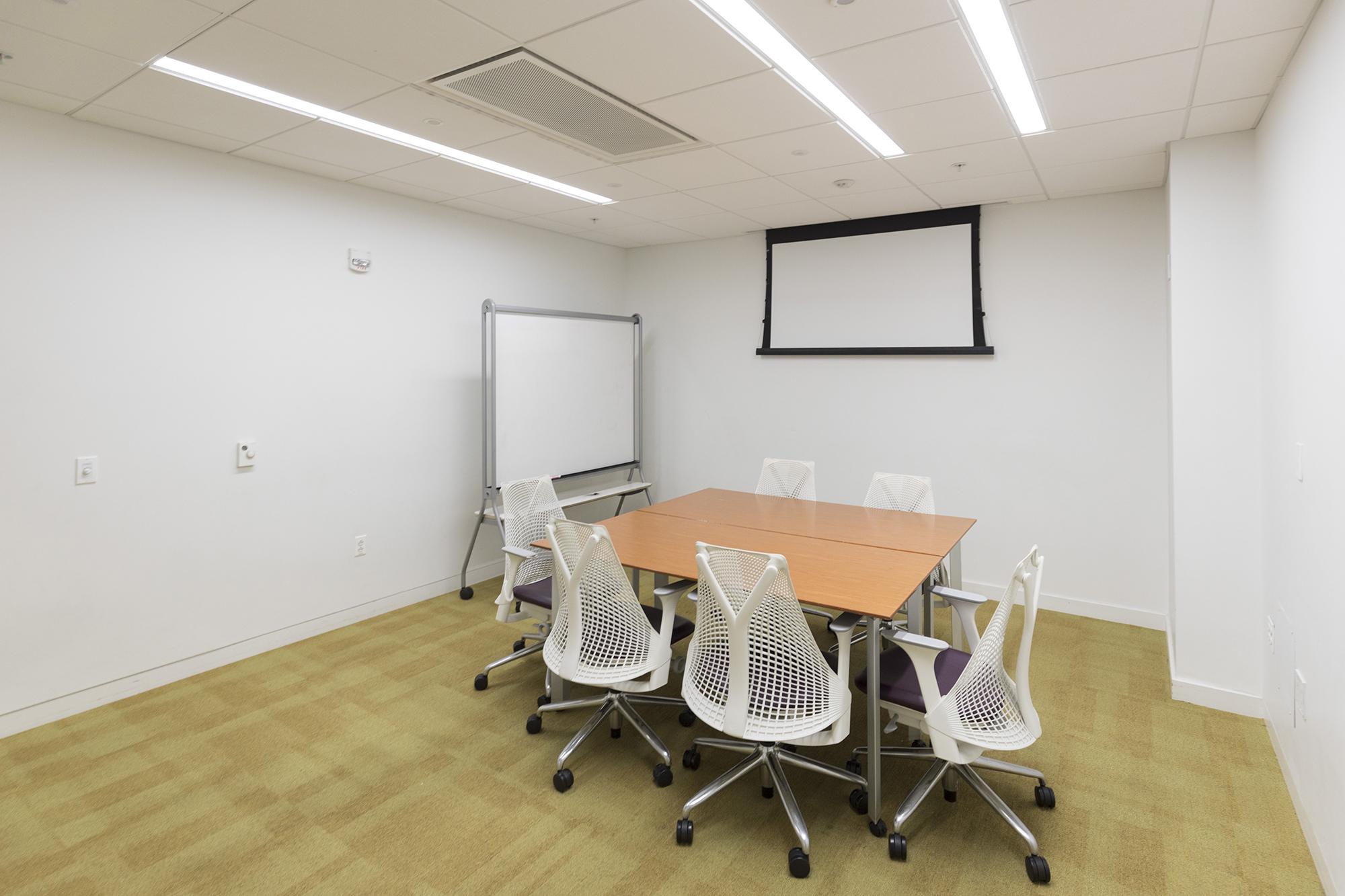 ncsu hunt library presentation practice room