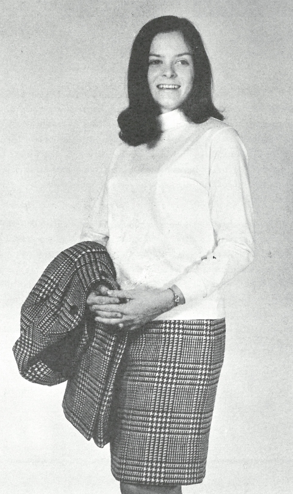 Sarah Sheffield, 1969, editor of Agri-Life, a student publication of the College of Agriculture and Life Sciences
