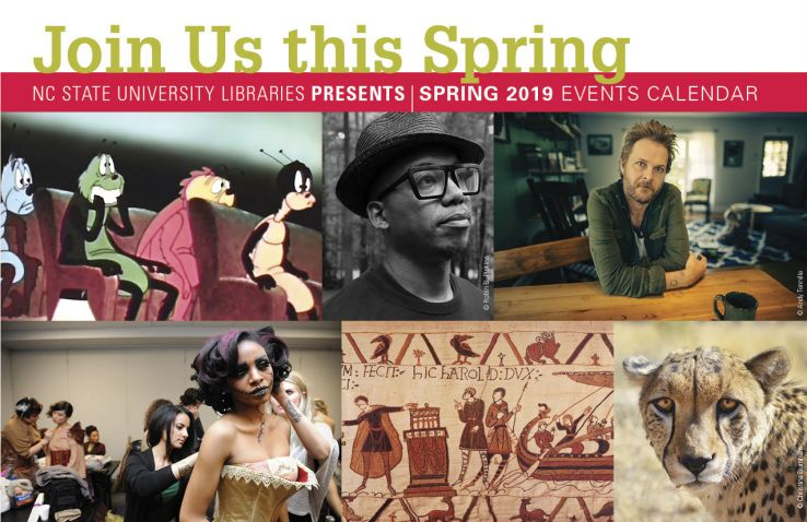 NCSU Libraries events calendar