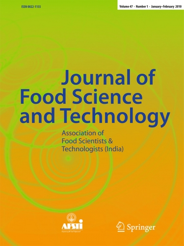 Picture of journal of Food and science technology