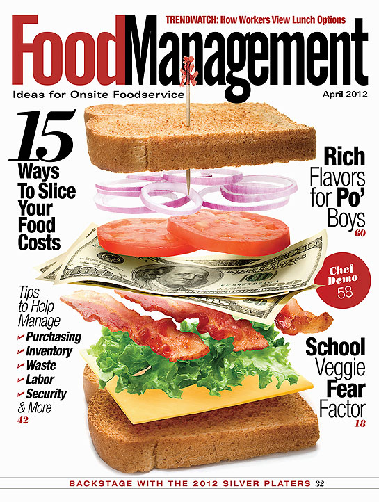 Picture of food management journal/magazine