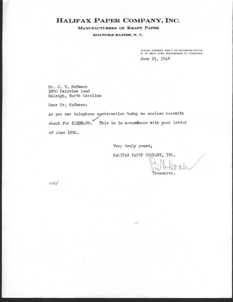 General Administration Correspondence