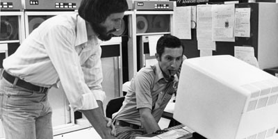 1981: North Carolina State University Computing Center.