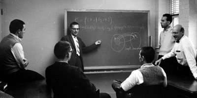 1970: Statistics faculty discuss the Genesis of Knowledge.